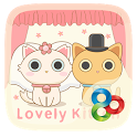 Lovely Kitten GO LauncherTheme icon