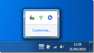 Zenapp blogspot com: Windows 7 – Always show the Citrix offline plug