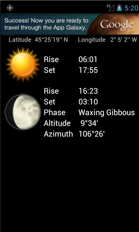 Local Sun and Moon- screenshot