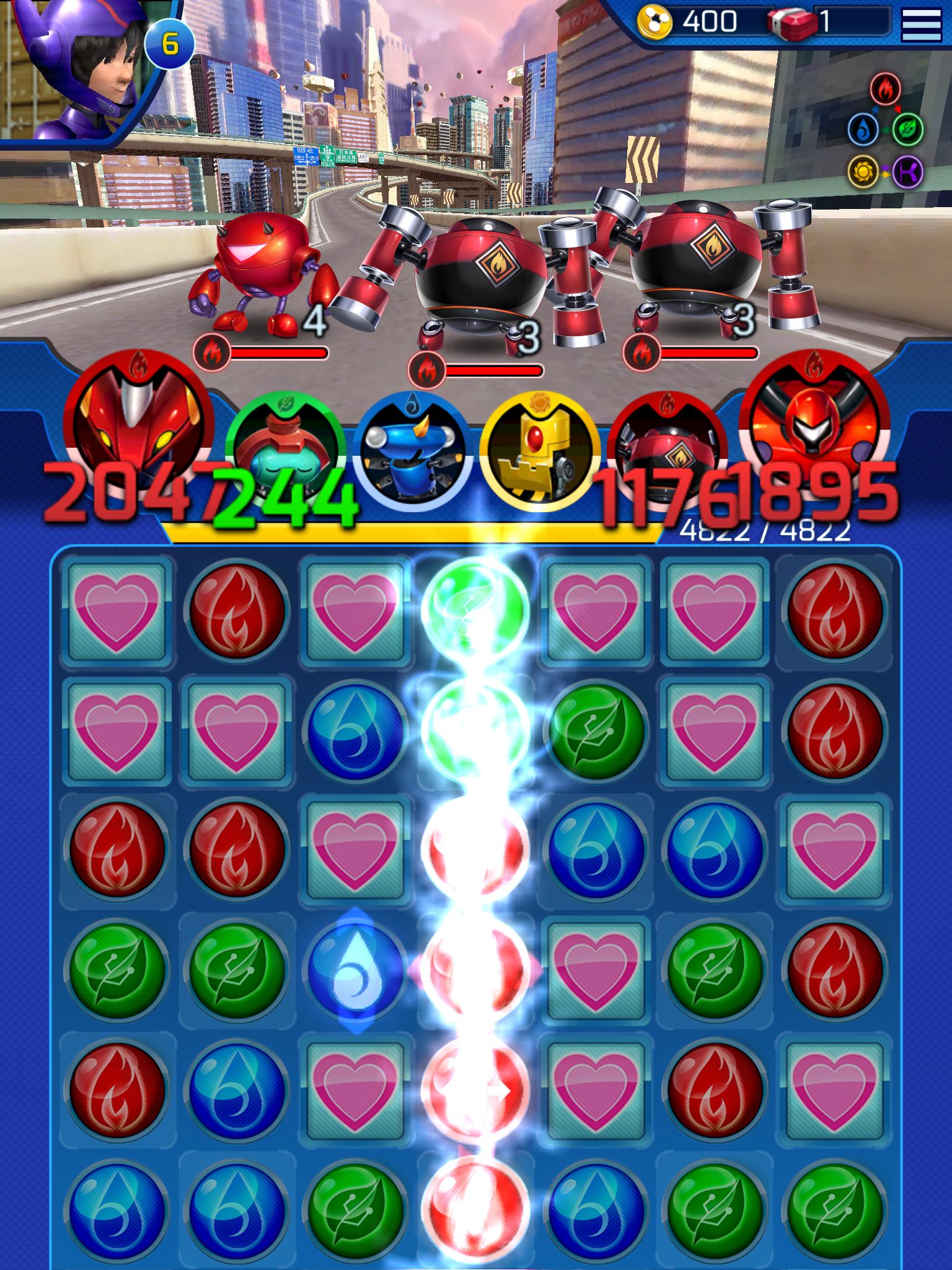 Big Hero 6 Bot Fight screenshot #20