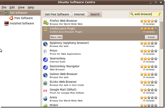 Ubuntu Software Centre Gets Star Ratings & Reviews - OMG