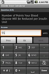 Insulin Dose Calculator
