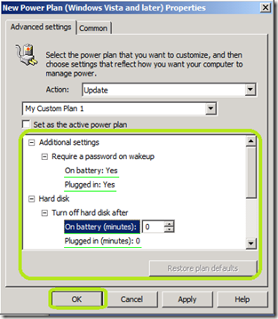 Jason Yoder, MCT: Create a Power Plan in Group Policy