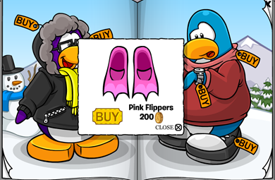 Pink Flippers :)