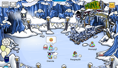 White Puffle at Puffle Party :)