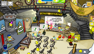 Puffle Party 2010 :)