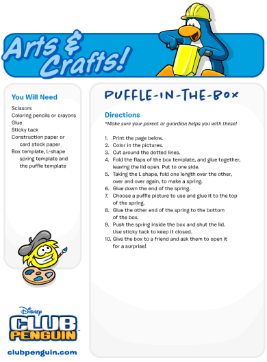 Puffle-in-The-Box