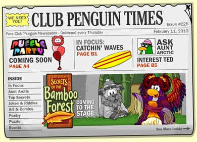 Club Penguin Times :)