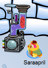 Puffle Washer :)
