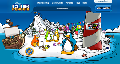 Club Penguin :)