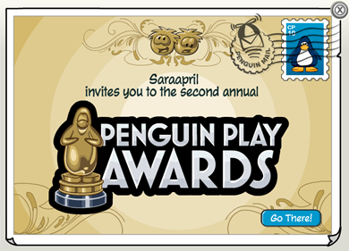 Penguin Play Awards Postcard :)