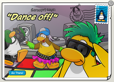 Dance Off Postcard :)