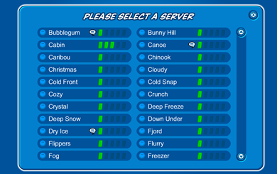 Club Penguin Servers