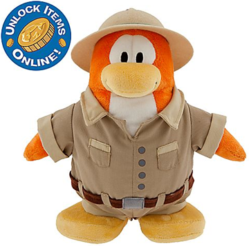 Club Penguin 9'' Limited Edition Penguin Plush – Explorer :)