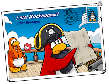 Rockhopper Post Card