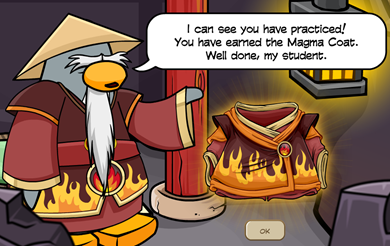 Magma Coat Card-Jitsu Fire Suit Sensei