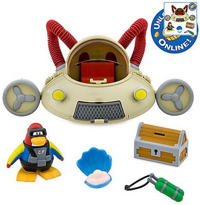 Aqua Grabber Vehicle with Scuba Diver Figure
