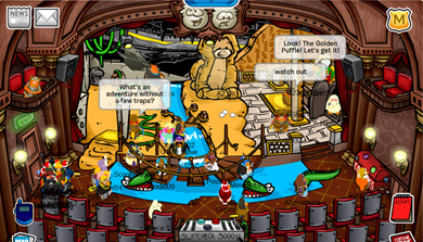 The Stage Quest of the Golden Puffle