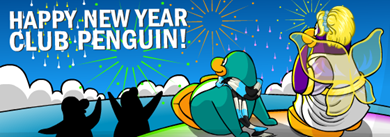 Happy New Year Club Penguin :)
