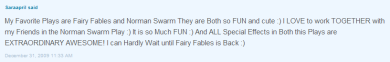 Saraapril's comment Posted on Club Penguins What's New Blog