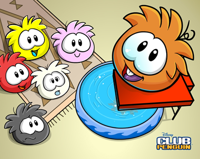 Puffle Wallpaper :)