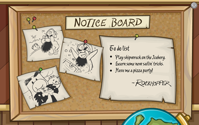 Rockhopper's Notice Board :)
