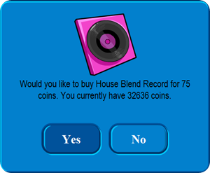 House Blend Record :)
