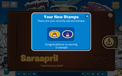 Saraapril's First  Stamps :)