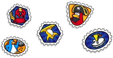 Club Penguin Stamps :)