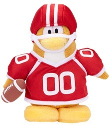 Plush Penguin Series 9 American Football Player :)