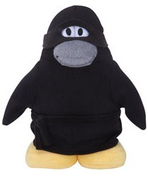 Plush Penguin Series 9 - Ninja :)
