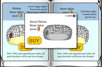 Secret Deluxe Stone Igloo :)