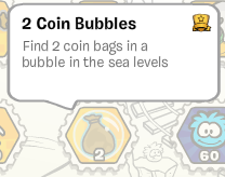 Find 2 Coin Bubbles :)