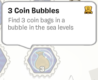 Find 3 Coin Bubbles :)