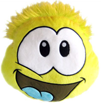 Club Penguin Puffle Cushion – Yellow :)
