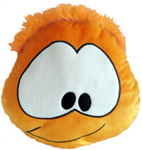 Club Penguin Puffle Cushion – Orange :)