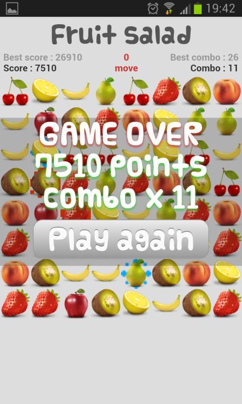 Fruit Salad - screenshot
