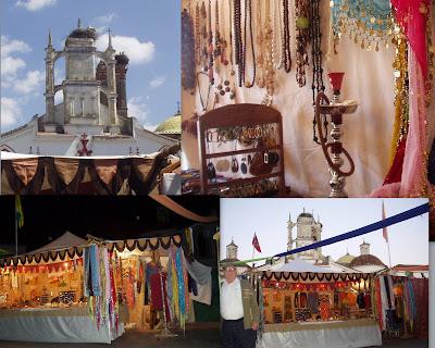 Mercado Medieval en Cala, Huelva