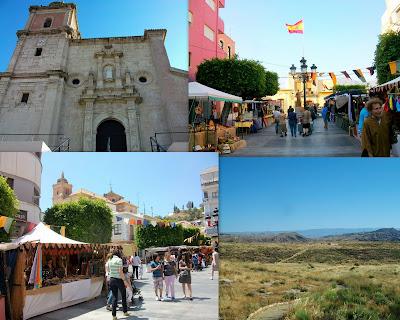 Mercado Medieval de Gador, Almería.