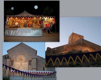 Mercado Medieval de Alcaudete, Jaén.