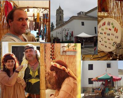 Mercado Medieval de Cabra, Cordoba.