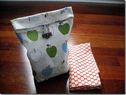Lunch Bag, Silverware Pouch 3