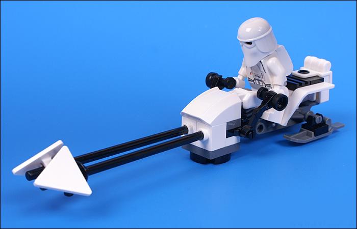 snowtrooper battle pack instructions