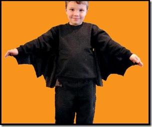 Cómo hacer disfraz infantil de murciélago