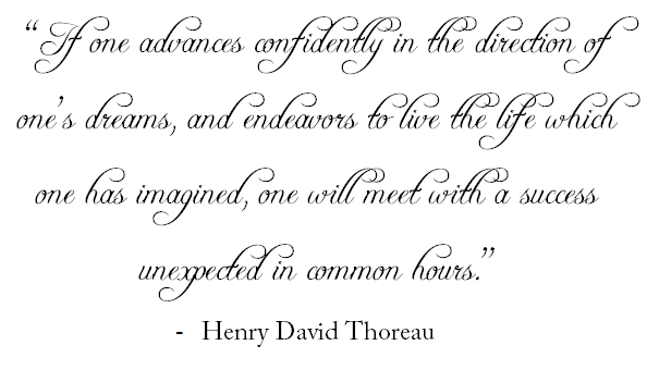 quote thoreau