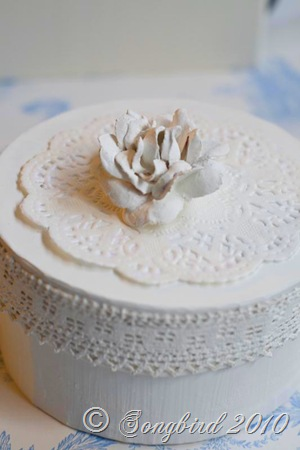 Rose box white