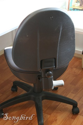 Office chair before