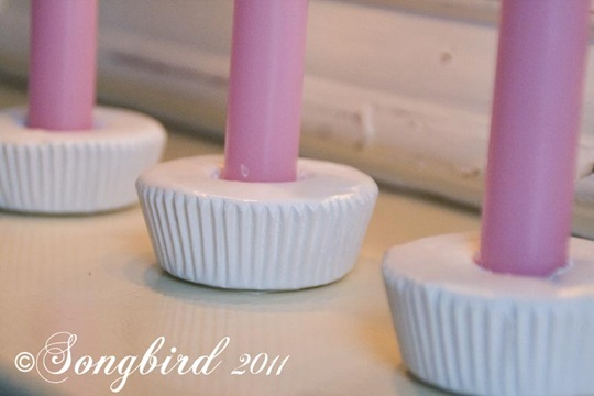 Cupcake candlesticks 4