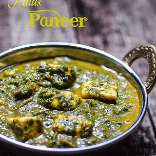 Palak Paneer Without Cream Recipes.