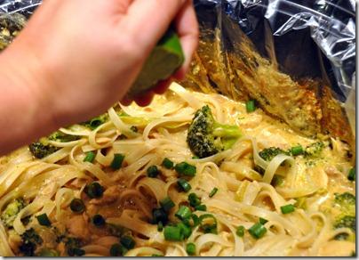 Slow Cooker Thai Chicken: Garnished with cilantro